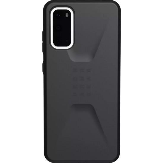 UAG Civilian Back Cover Μαύρο (Galaxy S20)