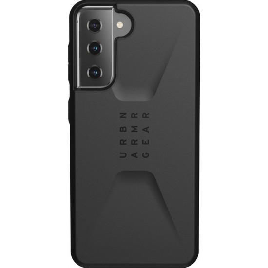 UAG Civilian Back Cover Πλαστικό Ανθεκτική Μαύρο (Galaxy S21 5G)
