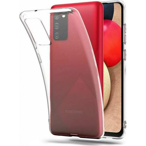 Ultra Slim 0.5mm Back Cover Σιλικόνης Διάφανο (Galaxy A02s)