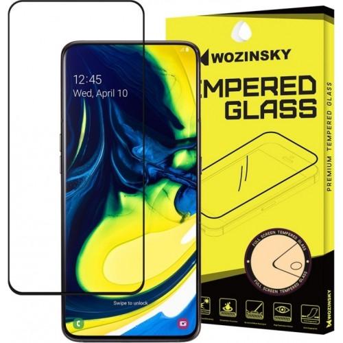 Wozinsky 5D Full Glue Full Face Tempered Glass Black (Galaxy A80)