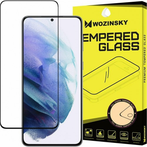 Wozinsky Full Face Tempered Glass Black (Galaxy S21+ 5G)