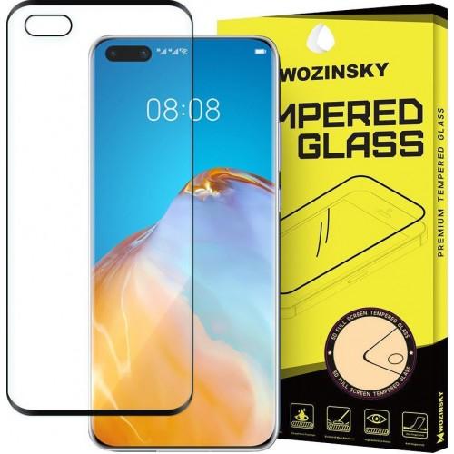 Wozinsky Full Face Tempered Glass Black (Huawei P40)