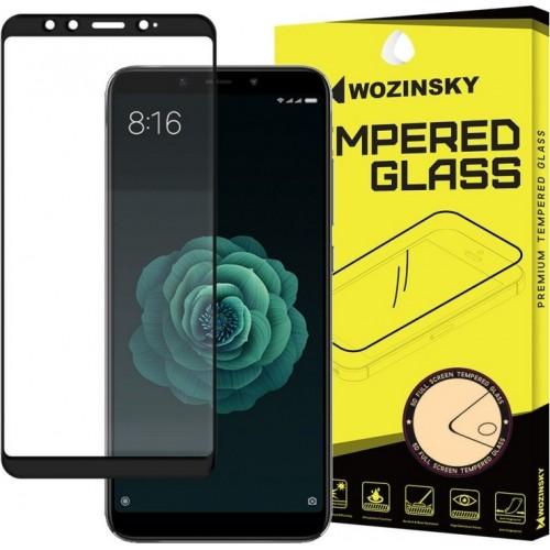 Wozinsky Full Face Tempered Glass Black (Mi 6X/Mi A2)