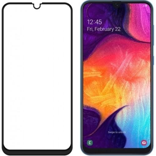 Wozinsky Full Glue Full Face Tempered Glass Black (Galaxy A40)