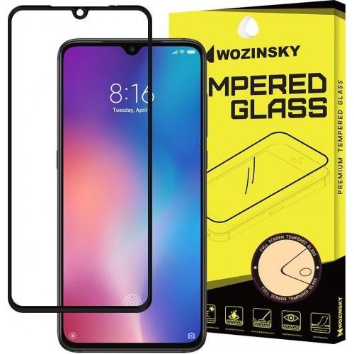 Wozinsky Full Glue Full Face Tempered Glass Black (Mi 9)