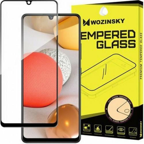 Wozinsky Full Glue Super Tough Full Face Tempered Glass Black (Galaxy A42)
