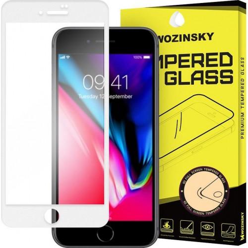 Wozinsky Full Glue Tempered Glass White (iPhone SE 2020 / 8 / 7)