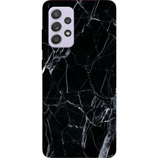 Wozinsky Marble Back Cover Σιλικόνης Μαύρο (Galaxy A52 5G / A52 4G)