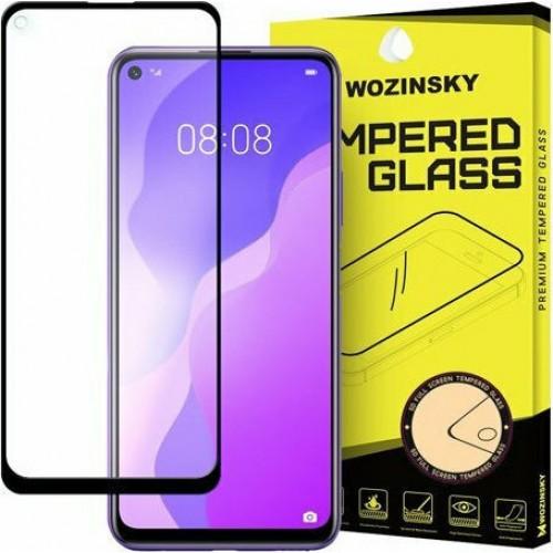 Wozinsky Tempered Glass Full Glue Black (Huawei P40 Lite 5G)