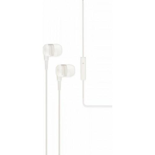 iXchange SE02 In-ear Handsfree με Βύσμα 3.5mm Λευκό