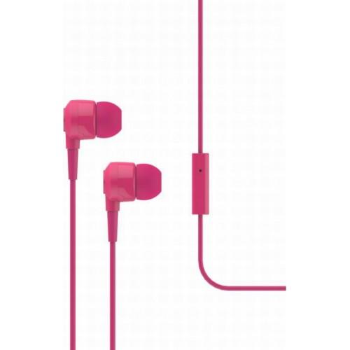 iXchange SE02 In-ear Handsfree με Βύσμα 3.5mm Ροζ