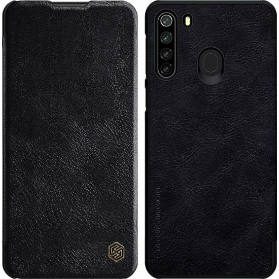 Nillkin Qin High Quality PU Leather Leather Case Book - Black (Samsung Galaxy M21 / M30s)