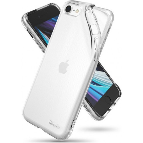 Ringke Back Cover Transparent Silicone  (iPhone SE 2020/8/7)