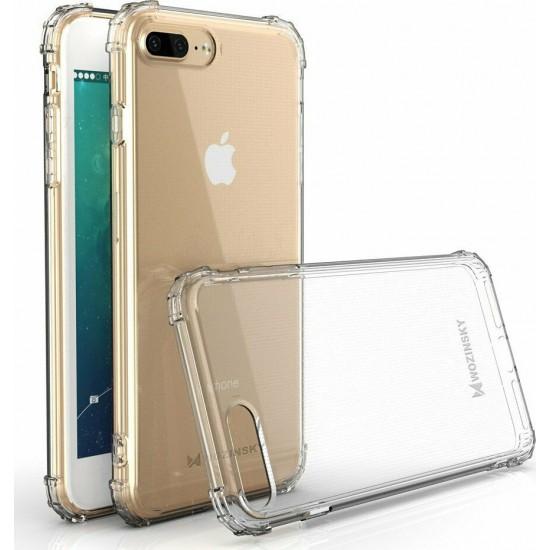 Anti Shock Durable Back Cover Transparent (iPhone 8/7 Plus)