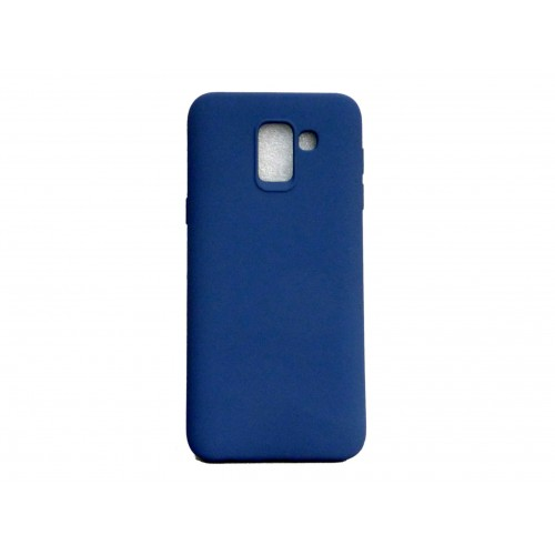 SOFT MATT CASE GEL TPU COVER 2.0 ΓΙΑ SAMSUNG GALAXY J6 2018 ΜΠΛΕ