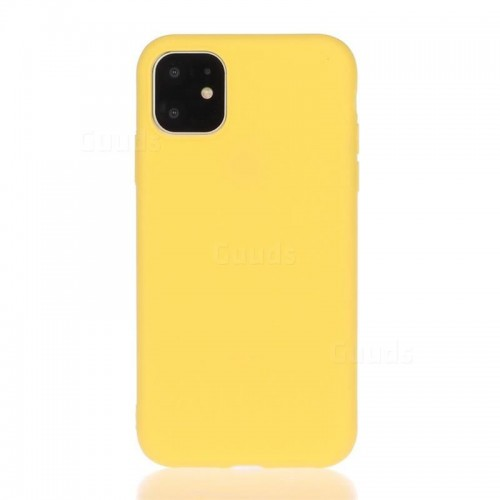 OEM SILICONE CASE MAT 1.5 MM BLISTER ΓΙΑ APPLE IPHONE 12/12 PRO 6,1'' YELLOW
