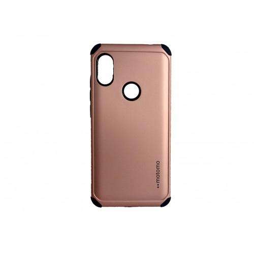 Θήκη motomo Back Cover Για Huawei P Smart 2019 / Honor 10 Lite ροζ Χρυσό