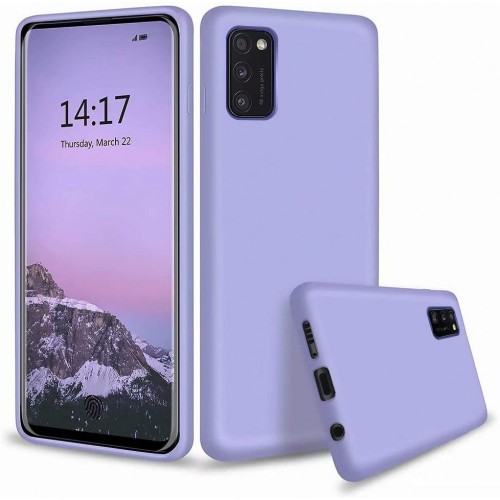 Soft Matt Case Gel TPU Cover 2.0mm Για Samsung Galaxy S21 Ultra 5G / S30 Ultra Μωβ Box