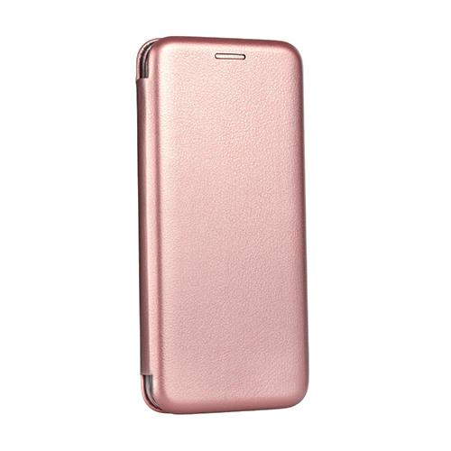 Oem Θήκη Βιβλίο Smart Magnet Elegance Για Huawei Y5P 2020 Ροζ-Χρυσό
