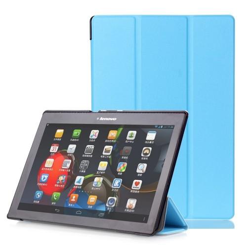 OEM Θήκη Βιβλίο - Σιλικόνη Flip Cover Για Huawei MediaPad T5 10.1'' Γαλάζια