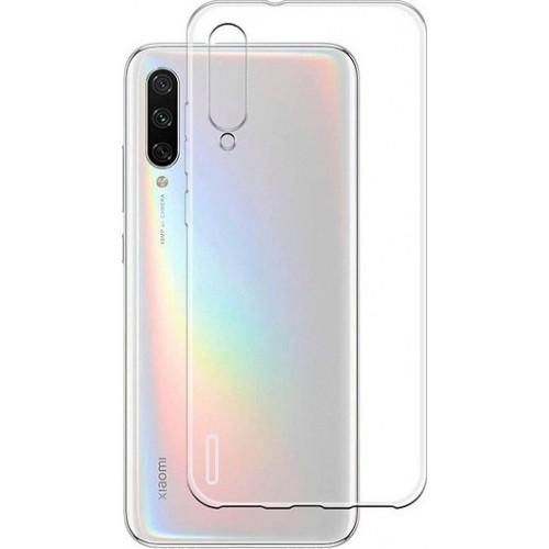 Θήκη Σιλικόνης Για Xiaomi Mi 9 Lite Διάφανη