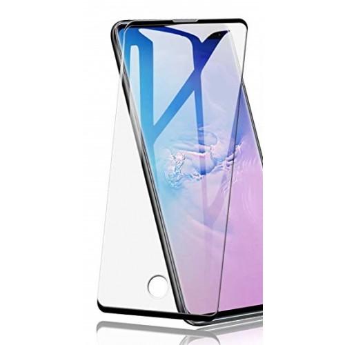 Full Face Tempered glass / Αντιχαρακτικό Γυαλί Πλήρους Οθόνης 3D Για Samsung Galaxy S10 plus Μαύρο