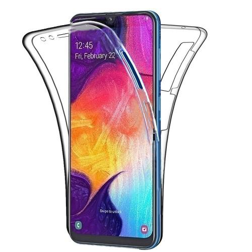 Oem Θήκη 360° Για Samsung Galaxy A12 Full Cover Διάφανη