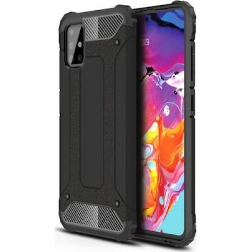 OEM Θήκη Armor Back Cover Για Samsung Galaxy M51 Μαύρη