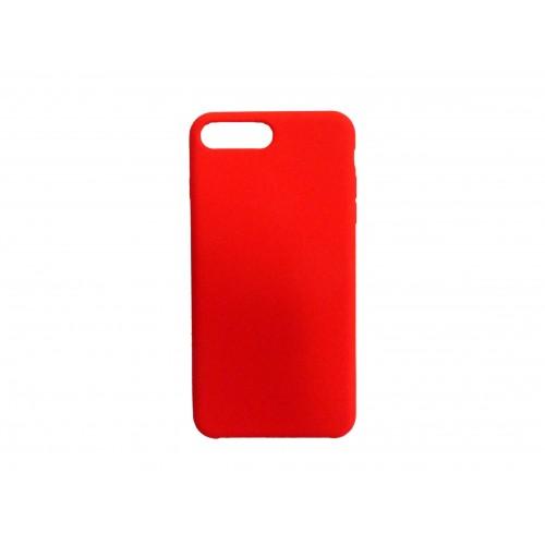 OEM SILICONE CASE MATT ΓΙΑ APPLE IPHONE 7/8 RED