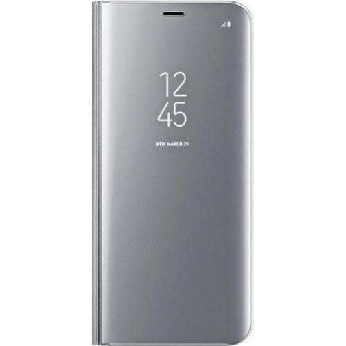 Θήκη Clear View Cover Για Xiaomi Redmi 7A Ασημί
