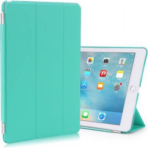 Trifold Θήκη Βιβλίο με Σιλικόνη Flip Cover Για Huawei MediaPad T5 10.1'' Τιρκουάζ