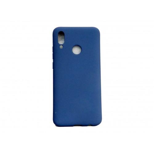 Soft Matt Case Gel TPU Cover 2.0mm Για Huawei Honor 10 Lite / P Smart 2019 Μπλε Box