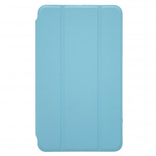 OEM Θήκη Βιβλίο - Σιλικόνη Flip Cover Για IPAD 2/3/4 Γαλάζια