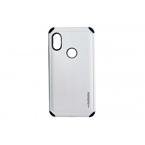 Θήκη motomo Back Cover Για Huawei P Smart 2019 / Honor 10 Lite Άσπρο