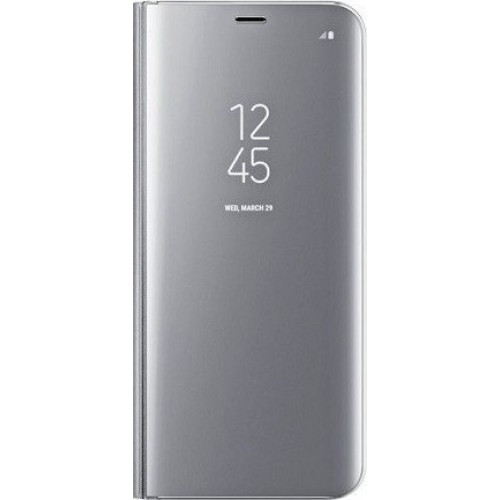 OEM CLEAR VIEW COVER CASE FOR HUAWEI HONOR 20 / NOVA 5T SILVER