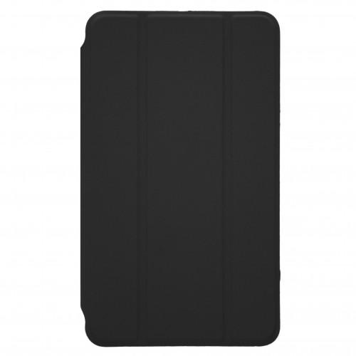 Trifold Θήκη Βιβλίο με Σιλικόνη Flip Cover Για Apple Ipad Mini 5 2019 Μαύρη