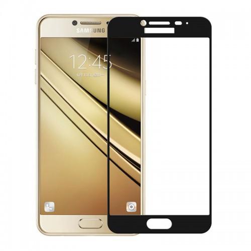 Full Face Tempered glass / Αντιχαρακτικό Γυαλί Πλήρους Οθόνης 3D Για Samsung Galaxy S7 Edge Μαύρο