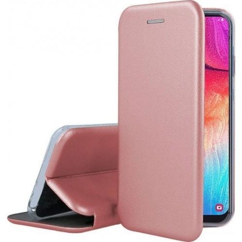 Oem Θήκη Βιβλίο Smart Magnet Elegance Για Xiaomi Mi 10T Lite Ροζ-Χρυσό