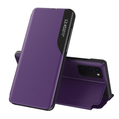Oem Case Book Eco Leather View Case elegant For Samsung Galaxy M51 Purple