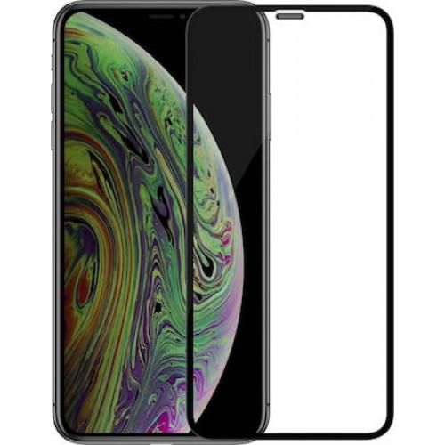 Full Face Tempered glass / Αντιχαρακτικό Γυαλί Oba Πλήρους Οθόνης 3D Για Apple iPhone 12 Pro Max 6,7'' Μαύρο