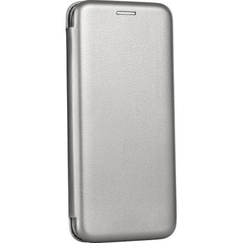 Θήκη Βιβλίο Smart Magnet Elegance Για Xiaomi Mi 9 Lite γκρι