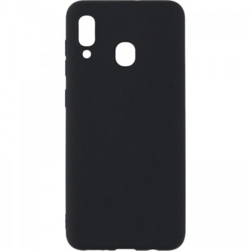 Θήκη Σιλικόνης Για Samsung Galaxy A20E Matt Μαύρη