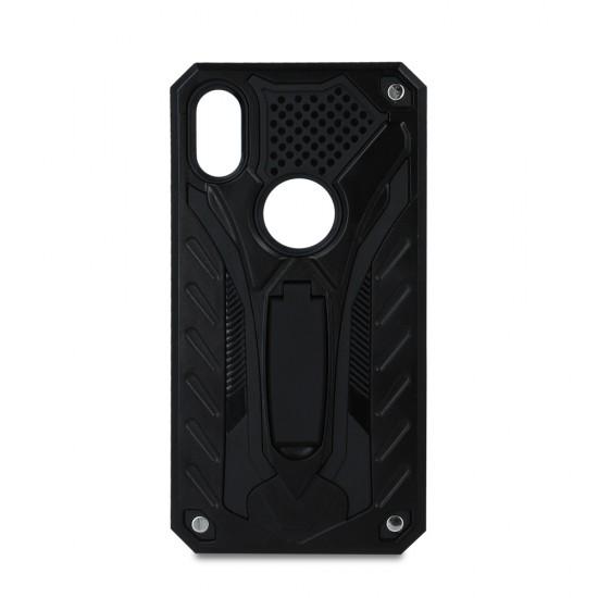 Defender Case with stand Για Huawei P30 Lite Μαύρο