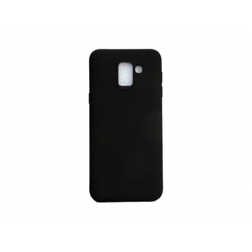 SOFT MATT CASE GEL TPU COVER 2.0 ΓΙΑ SAMSUNG GALAXY J6 2018 ΜΑΥΡΟ
