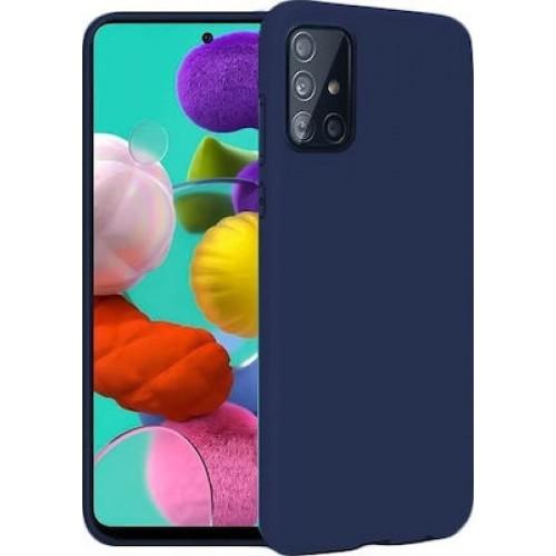 Soft Matt Case Gel TPU Cover 2.0mm Για Samsung Galaxy S21 Ultra 5G / S30 Ultra Μπλε Box