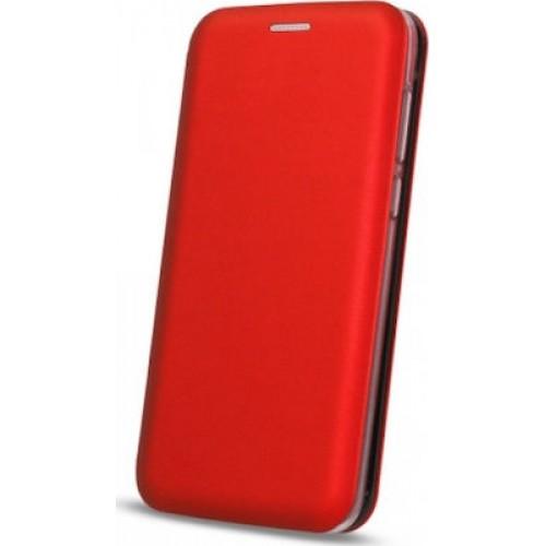 Oem Θήκη Βιβλίο Smart Magnet Elegance Για Huawei P Smart 2020 Κόκκινο