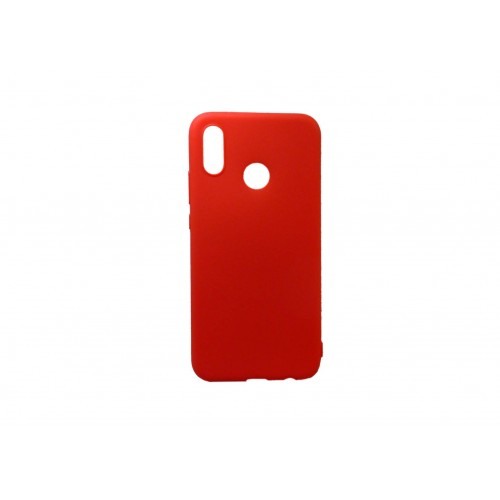 OEM Back Cover Silicone for Huawei Honor 8X Red Matt