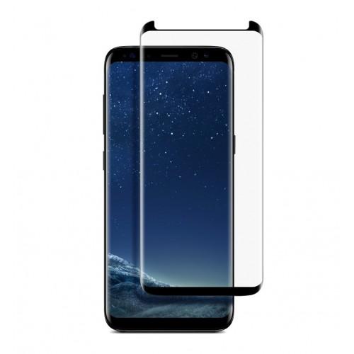 Full Face Tempered glass / Αντιχαρακτικό Γυαλί Πλήρους Οθόνης 3D Για Samsung Galaxy S8 Μαύρη
