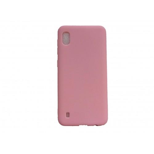 Oem Matt Silicone Case For Samsung Galaxy A10 Pink