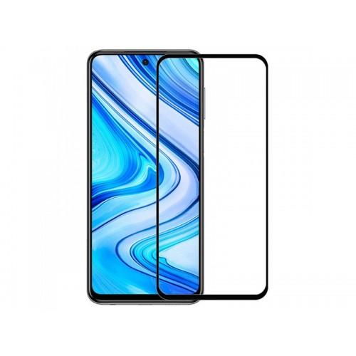 Full Face Tempered glass / Αντιχαρακτικό Γυαλί Oba Πλήρους Οθόνης 3D Για Xiaomi Redmi Note 9 Pro / Redmi Note 9s Μαύρο